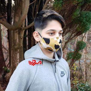 ماسک پارچه ایی کودک