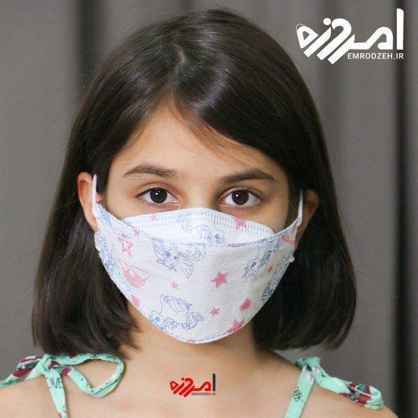 ماسک سه بعدی کودک